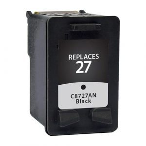 Compatible HP 27 (C8727AA) Black ink cartridge - 220 pages