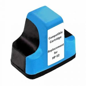 Compatible HP 02 (C8771WA) Cyan ink cartridge - 350 pages