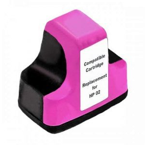 Compatible HP 02 (C8772WA) Magenta ink cartridge - 350 pages