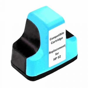 Compatible HP 02 (C8774WA) Light Cyan ink cartridge - 350 pages