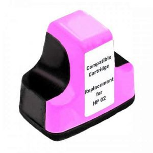 Compatible HP 02 (C8775WA) Light Magenta cartridge - 350 pages