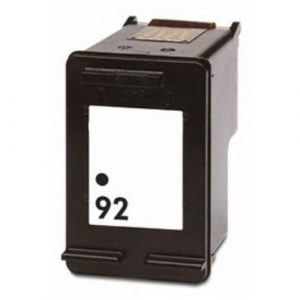 Compatible HP 92 (C9362WA) Black ink cartridge - 210 pages