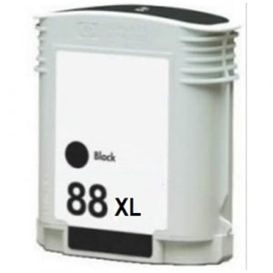 Compatible HP 88 (C9396A) Black ink cartridge - 2450 pages