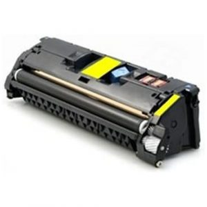 Compatible HP 121A (C9702A) Yellow toner cartridge - 4,000 pages
