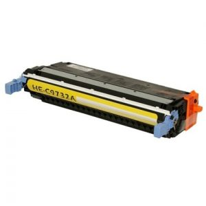 Compatible HP 645A (C9732A) Yellow toner cartridge - 12,000 pages