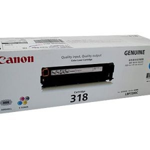 Genuine Canon CART-318 Cyan toner cartridge - 2,400 pages