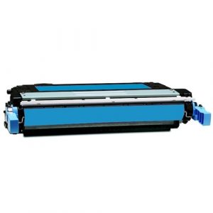Compatible HP 642A (CB401A) Cyan toner cartridge - 7,500 pages