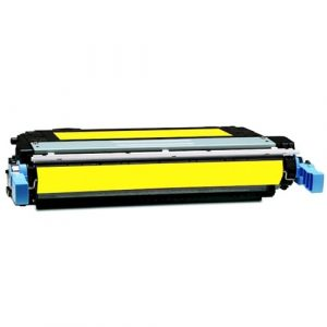 Compatible HP 642A (CB402A) Yellow toner cartridge - 7,500 pages