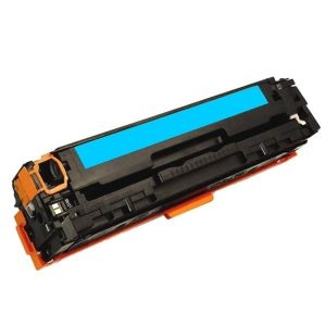 Compatible HP 125A (CB541A) Cyan toner cartridge - 1,400 pages