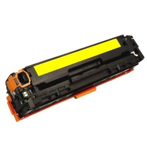 Compatible HP 125A (CB542A) Yellow toner cartridge - 1,400 pages