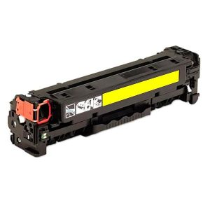 Compatible HP 304A (CC532A) Yellow toner cartridge - 2,800 pages