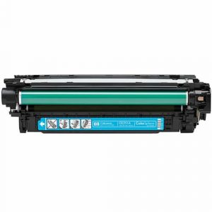 Compatible HP 504A (CE251A) Cyan toner cartridge - 7,000 pages