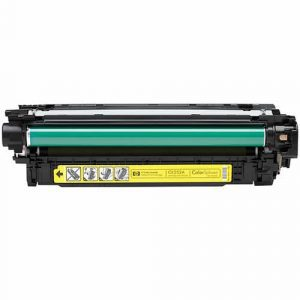 Compatible HP 504A (CE252A) Yellow toner cartridge - 7,000 pages