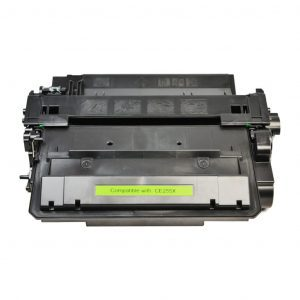 Compatible HP 55X (CE255X) High Yield toner cartridge - 12,500 pages
