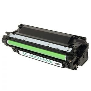 Compatible HP 649X (CE260X) Black toner cartridge - 8,500 pages