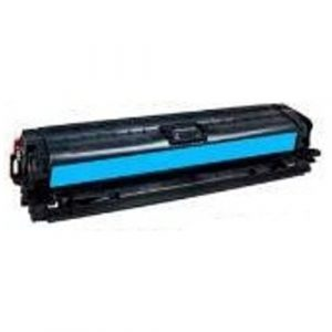 Compatible HP 650A (CE271A) Cyan toner cartridge - 15,000 pages