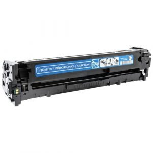 Compatible HP 128A (CE321A) Cyan toner cartridge - 1,300 pages