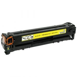Compatible HP 128A (CE322A) Yellow toner cartridge - 1,300 pages
