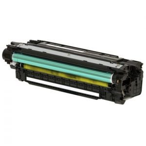 Compatible HP 507A (CE402A) Yellow toner cartridge - 6,000 pages
