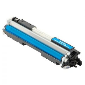 Compatible HP 130A (CF351A) Cyan toner cartridge - 1,000 pages