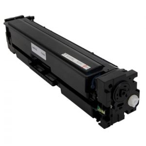Compatible HP 201X (CF401X) Cyan toner cartridge - 2,300 pages