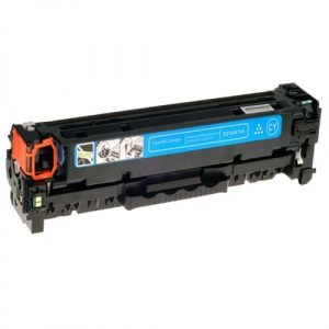 Compatible HP 410X (CF411X) Cyan toner cartridge - 5,000 pages
