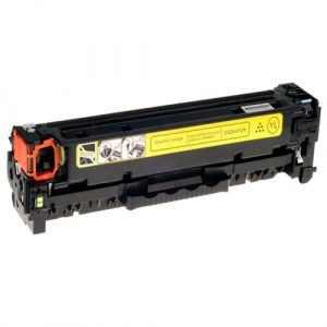 Compatible HP 410X (CF412X) Yellow toner cartridge - 5,000 pages