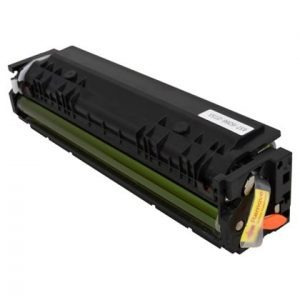 Compatible HP 202X (CF502X) Yellow toner cartridge - 2,500 pages