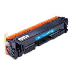 Compatible HP 204A (CF511A) Cyan toner cartridge - 900 pages