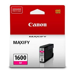 Genuine Canon PGI-1600 Magenta ink cartridge - 300 pages