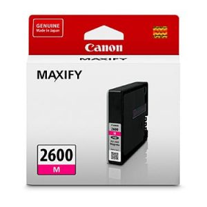 Genuine Canon PGI-2600 Magenta ink cartridge - 700 pages