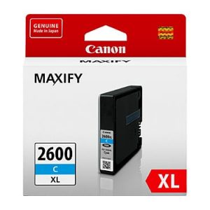 Genuine Canon PGI-2600XL Cyan ink cartridge - 1,500 pages