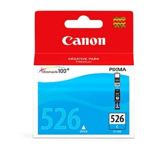 Genuine Canon CLI-526 Cyan ink cartridge - 280 pages