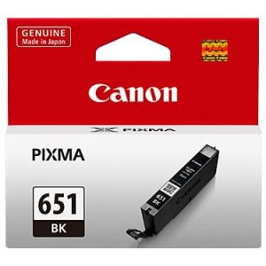 Genuine Canon CLI-651 Black ink cartridge - 280 pages