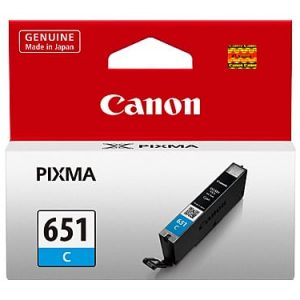 Genuine Canon CLI-651 Cyan ink cartridge - 280 pages