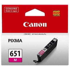 Genuine Canon CLI-651 Magenta ink cartridge - 280 pages