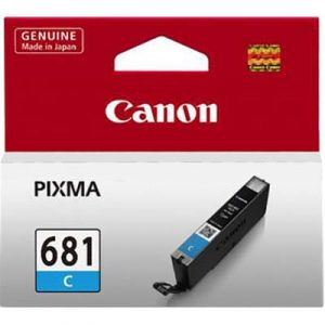 Genuine Canon CLI-681 Cyan ink cartridge - 250 pages