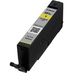 Genuine Canon CLI-681XL Yellow High Yield ink cartridge - 515 pages