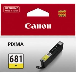 Genuine Canon CLI-681 Yellow ink cartridge - 250 pages