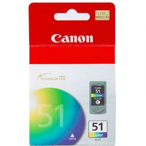 Genuine Canon CL-51 FINE Colour High Yield ink cartridge - 545 pages