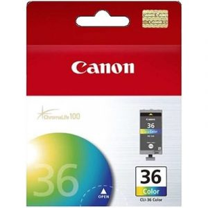 Genuine Canon CLI-36 Four Colour ink cartridge - 109 pages