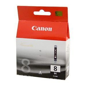 Genuine Canon CLI-8 Black ink cartridge - 4335 pages