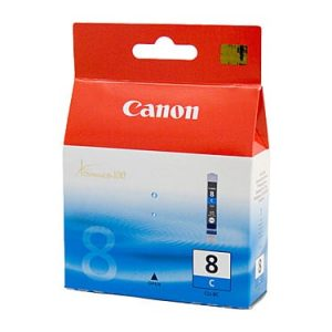 Genuine Canon CLI-8 Cyan ink cartridge - 450 pages