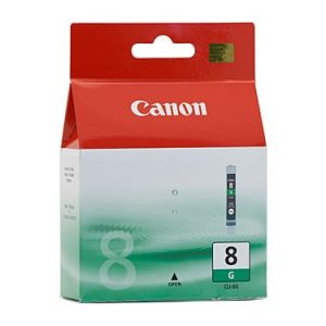 Genuine Canon CLI-8 Green ink cartridge - 450 pages