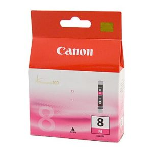 Genuine Canon CLI-8 Magenta ink cartridge - 450 pages