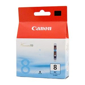 Genuine Canon CLI-8 Photo Cyan ink cartridge - 450 pages