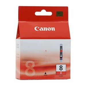 Genuine Canon CLI-8 Red ink cartridge - 450 pages