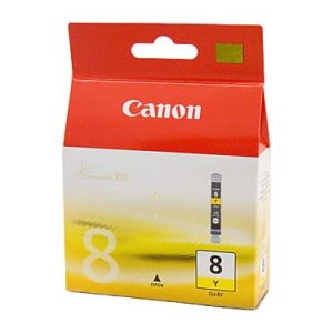 Genuine Canon CLI-8 Yellow ink cartridge - 450 pages
