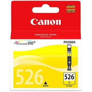 Genuine Canon CLI-526 Yellow ink cartridge - 280 pages