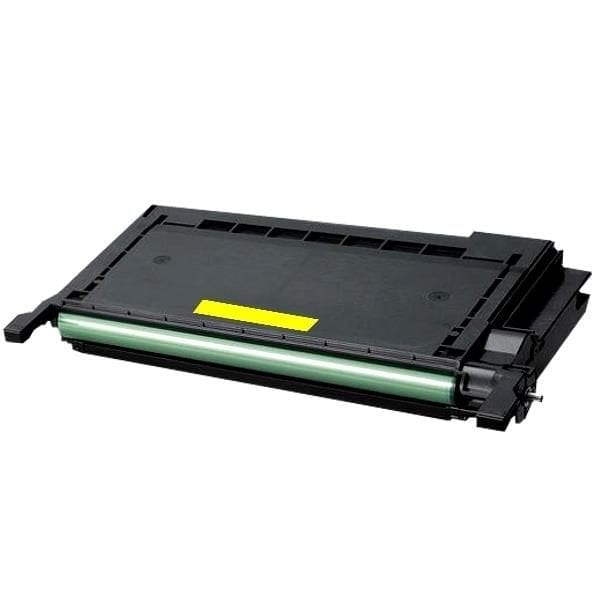 Compatible Samsung CLP-Y660B Yellow toner cartridge - 5,000 pages